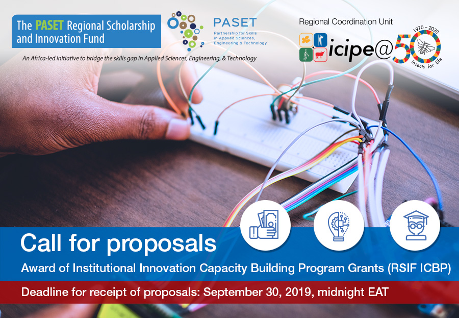 CALL FOR PROPOSALS RSIF Institutional Capacity Building Program (RSIF- ICBP)