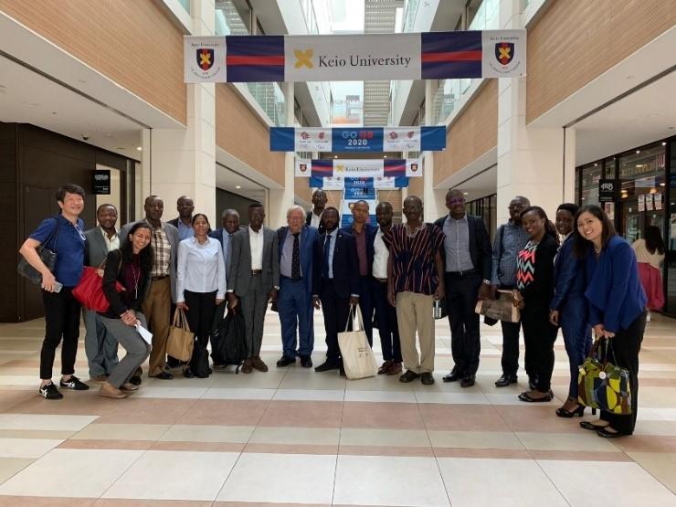 RSIF AHU Faculty, World Bank and icipe representatives at Keio University